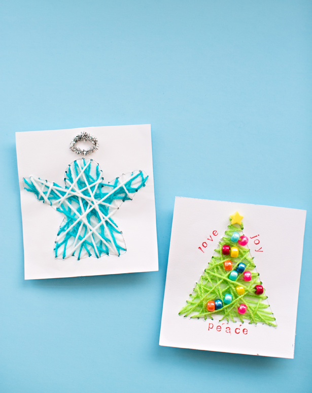diy-string-art-christmas-cards-kids-can-make(3)