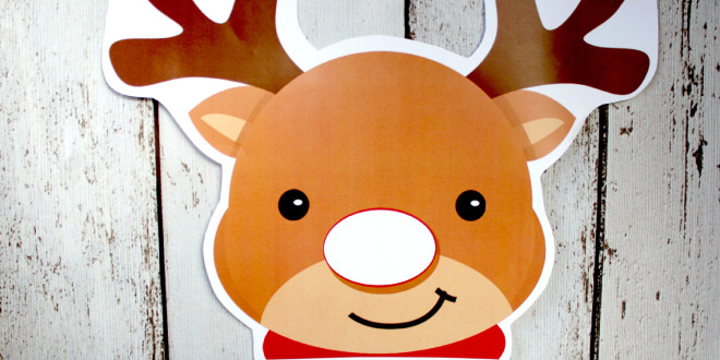 Pin The Nose on Rudolph - Christmas Twist